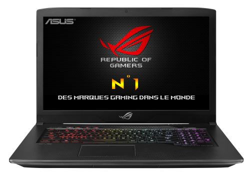 pc portable asus rog strix gl703vm gc104t 17 3 gaming. Black Bedroom Furniture Sets. Home Design Ideas