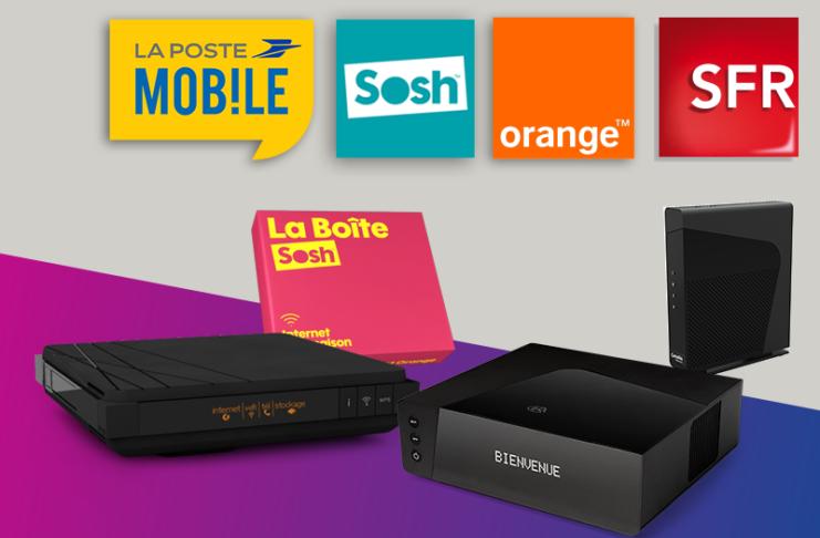 Box internet offres de la semaine