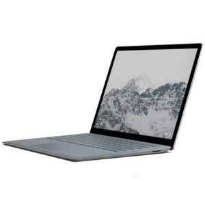 soldes 2019 : MICROSOFT - Surface Laptop - 128 Go - Gris Platine