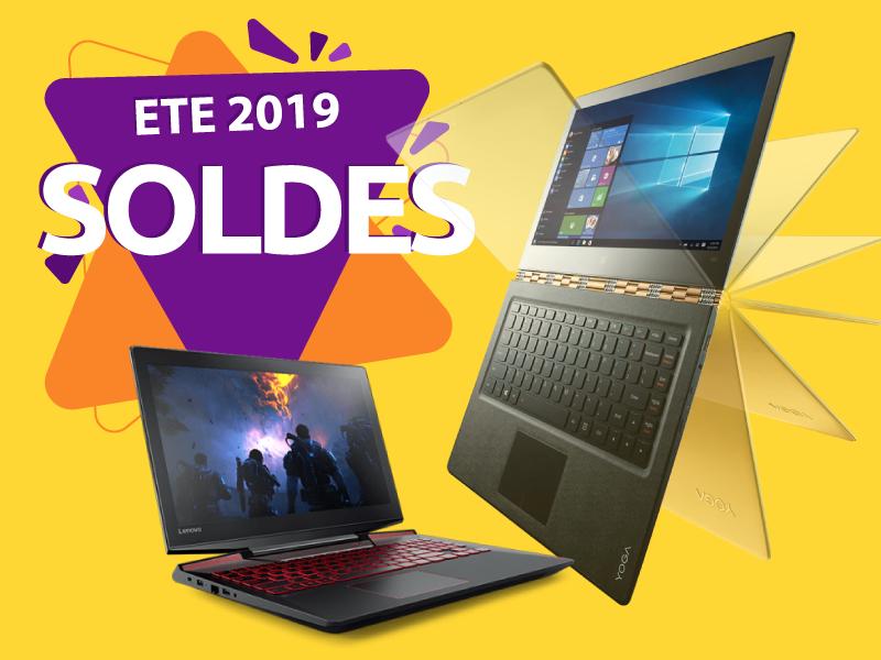 Soldes d'été 2019 ordinateurs portables